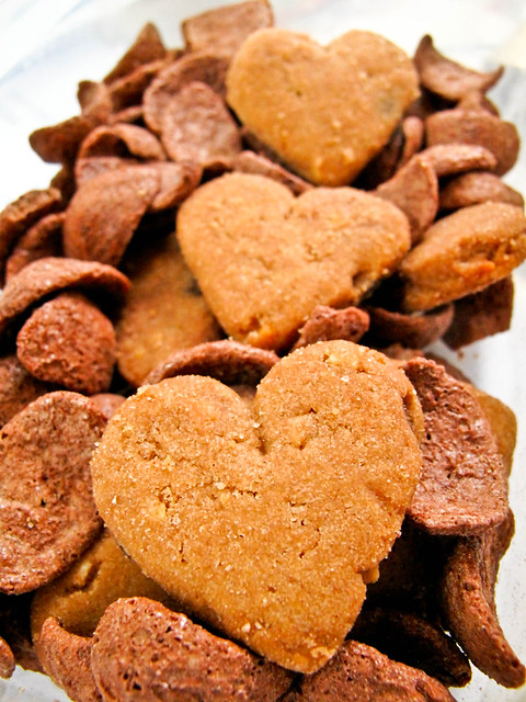 IMG_2016 3-hearts, 三颗心- heart-shape cookies