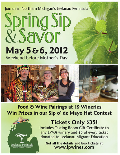 Sip and Savor Poster
