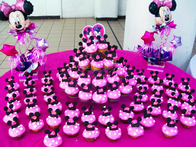 Muffins Minnie Mouse - Imagui