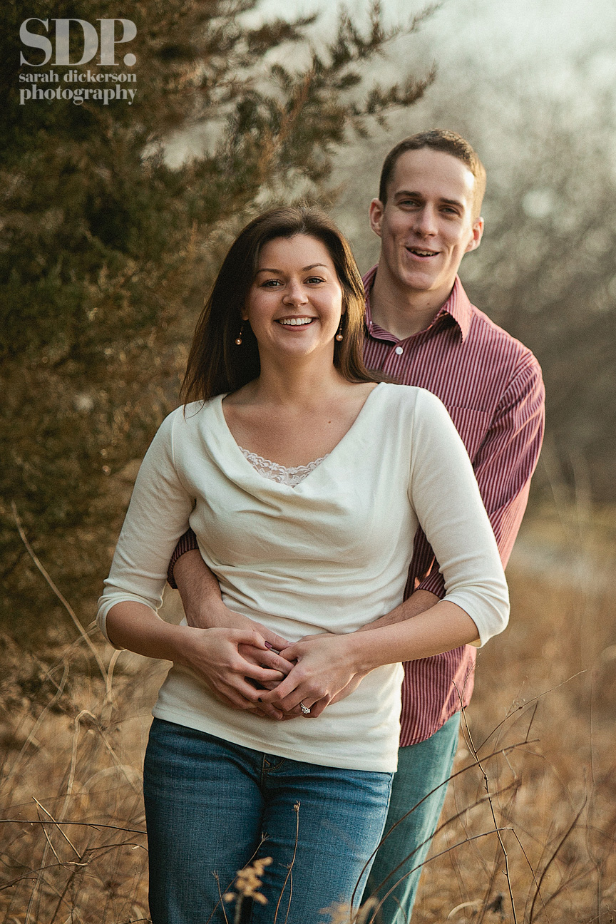 Shawnee Mission Park engagement photography