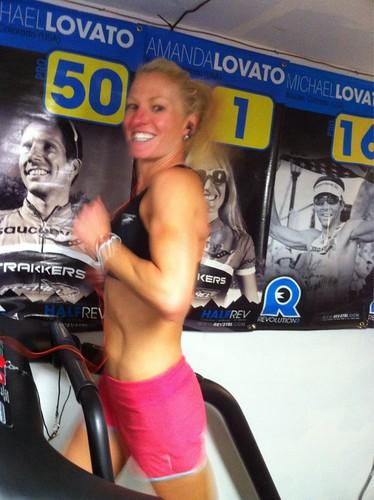 Treadmill wife