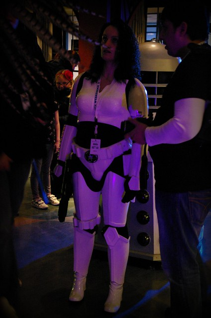it's no wonder Darth Vader's lot are rubbish, turns out the storm troopers are a bunch of girls