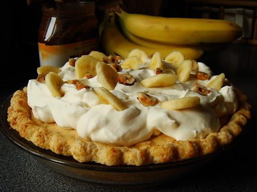 Nutella Banoffee Cream Pie