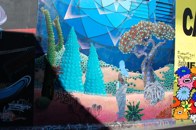 Clarion Alley Mural by Jef Martinez