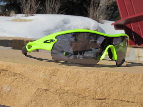 Oakley Radar, neon of course