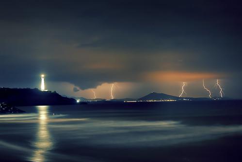 Summer Storm, Biarritz