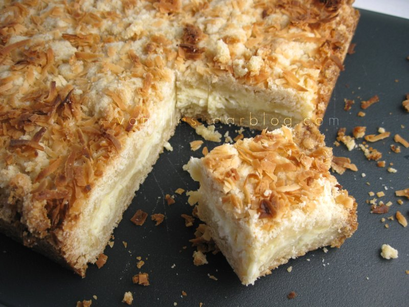 toasted coconut cream cheese bars 4
