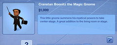 Cranstan Boonitz the Magic Gnome