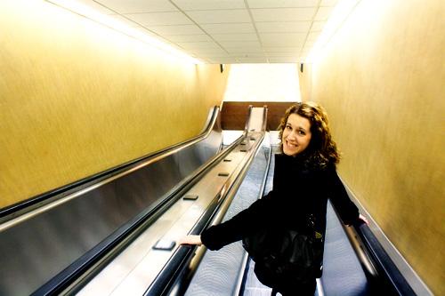 Looong-escalator