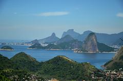Visual do Rio de Janeiro tirado do Parque da Cidade de Niterói
