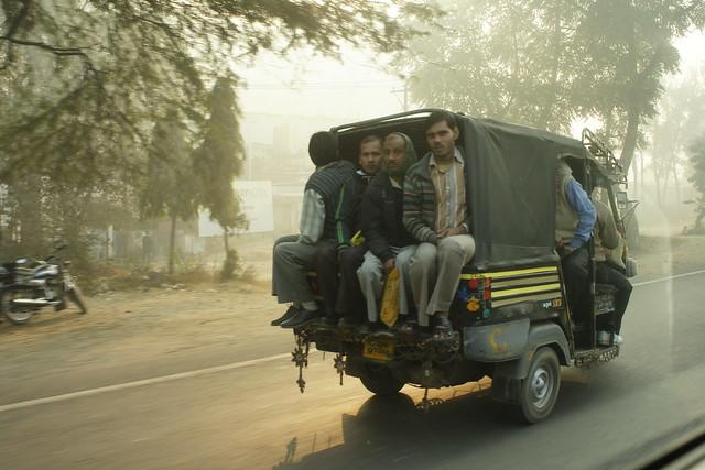 Auto-rickshaw (Piaggio Apé)
