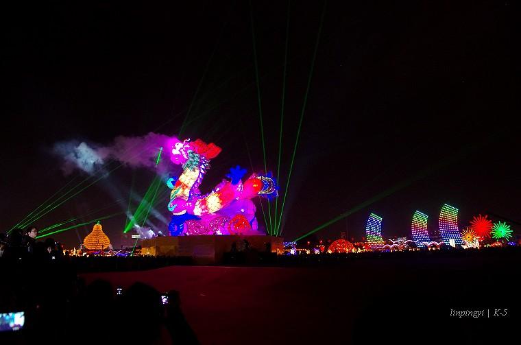 2012臺灣燈會彰燈結彩喜氣洋洋 [+影片]