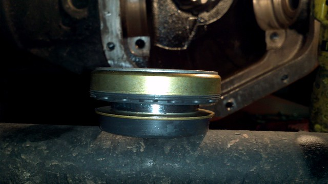 cdeeff9aee3 This is the complex rotating inner axle seal. The axle shaft doesn t spin  in the seal. The inner part of the seal rotates inside the outer ...