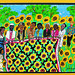 9/7/07 - 3:22 PM - Sunflower Quilting Bee by Faith Ringgold, 1996, Lithograph, 95/100, The Rutgers Center for Innovative, Print and Paper, New Brunswick, NJ