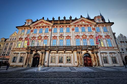 Palace Golz-Kinsky. Prague