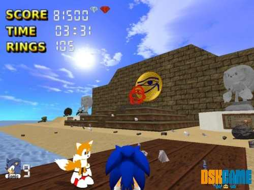 Sonic The Hedgehog 3D 4