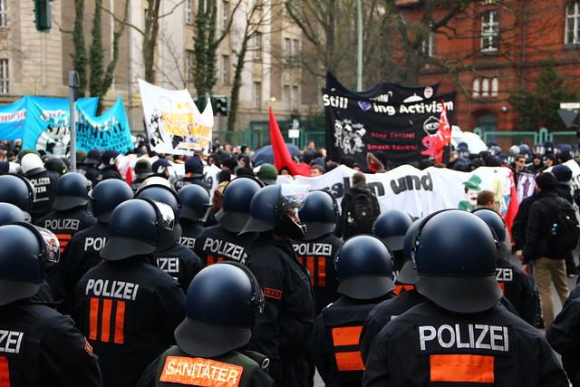 #antirep2014 Demo in Berlin