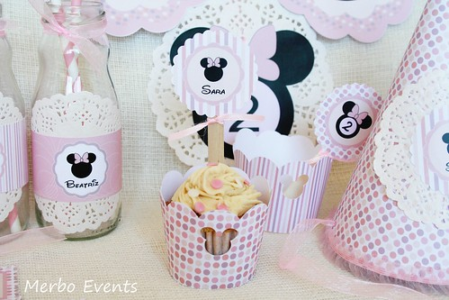 Wrappers Kit imprimible minnie Mouse Merbo Events