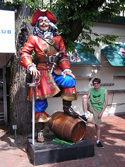 Captain Morgan Statue