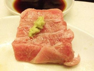 Fatty Tuna Sashimi with Wasabi @Uokura, Sinan Road, Shanghai