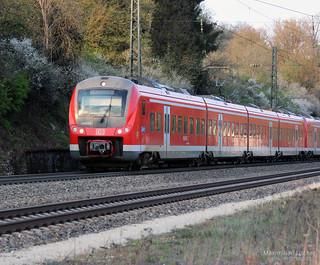 DB BR 440 515-5 & 517-1 regio | [DE] Möhren-Gundelsheim | 13.04.2014