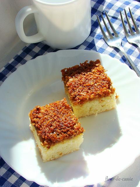 датский пирог с кокосом 2