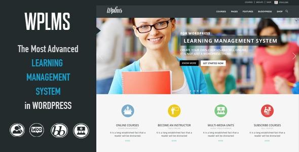 WPLMS v2.1.1 - Learning Management System