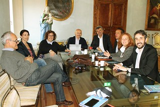 Incontro con l'europarlamentare Damiano Zoffoli, il collega Mirco Bagnari e i Sindaci della Bassa Romagna