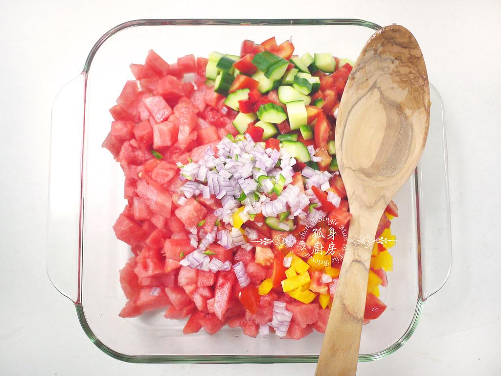 孤身廚房-西班牙西瓜冷湯13