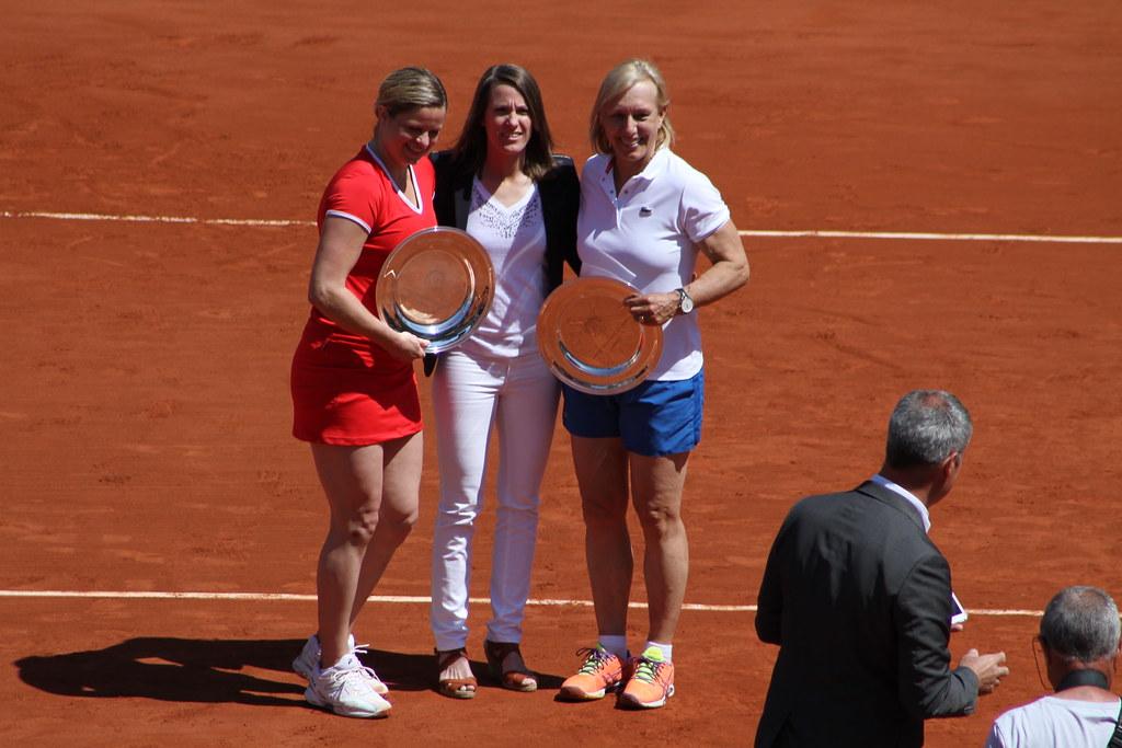 Clijsters, Hénin, Navratilova