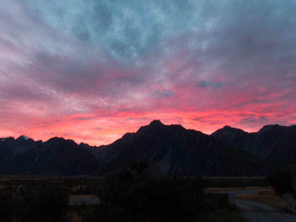Aoraki Mount Cook Village  New Zealand Sunrise Sunset Times