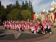 NAM Teens at DisneyLand for Nationals