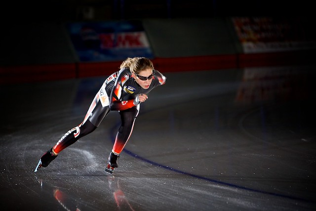 Long Track Speed Skater