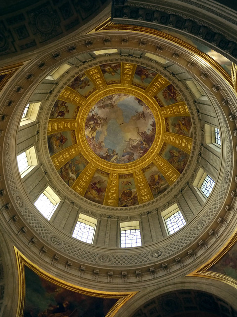 Dome at Napoleon Bonaparte's tomb