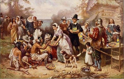 Thanksgiving-pilgrims-beer