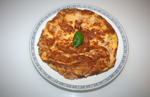Ham Cheese Omelette