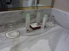 MGM Grand Tower Deluxe King Bathroom Amenities
