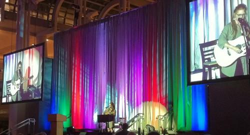 Crystal Bowersox Performs at Gala