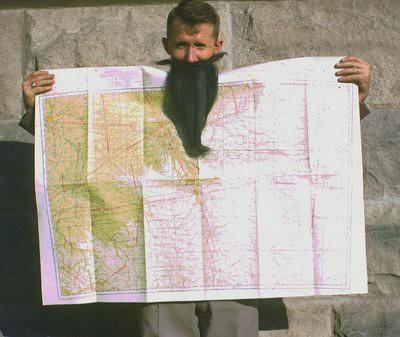 Beard&Map Ad