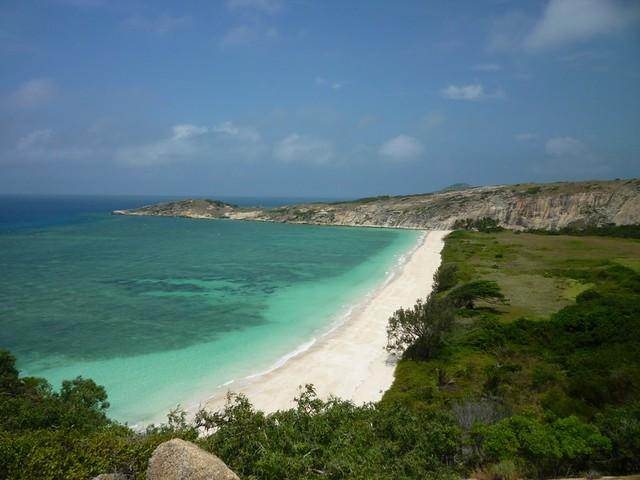 Coconut Beach, Lizard Island, Queensland, Australia