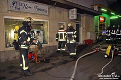 Schwelbrand Friseur Dotzheimer Str 28.11.11