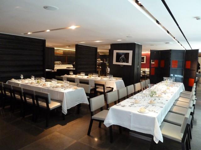 Sala Restaurante Lágrimas Negras