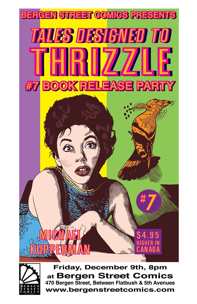 Tales Designed to Thrizzle Release Party