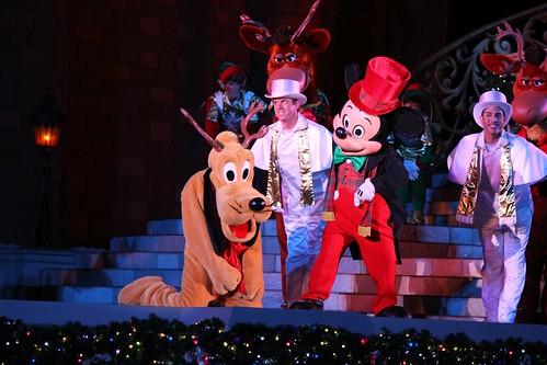 Pluto and Mickey