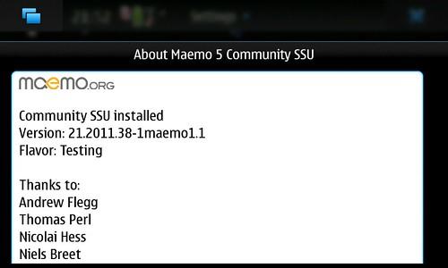 About maemo5 CSSU