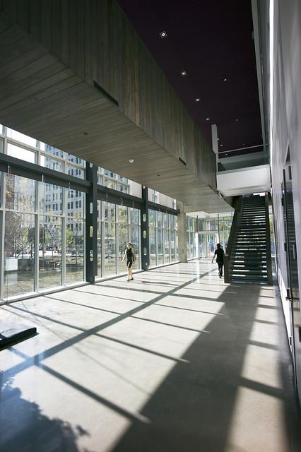 l atrium le lobby de la maison du d 233 veloppement durable co flickr photo