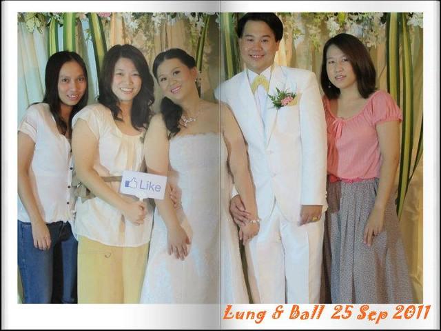 ป้ายกดLike ใช้เป็นพร็อพถ่ายภาพในงานแต่งงาน