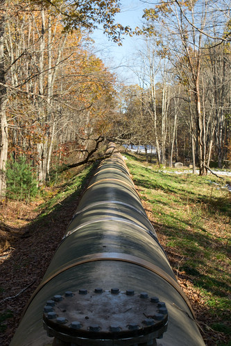 autumn green fall electric woods village power pipe newhampshire nh hydro lower fiberglass hillsborough penstock