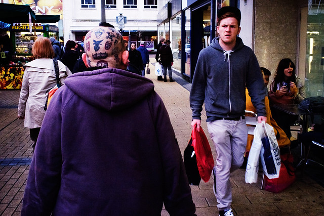 Photograph: [Untitled]; Broadmead, Bristol, December 2011. By Simon Holliday.