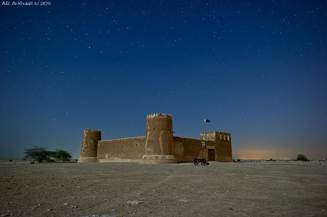 سماء قطر الجميلة - قلعة الزبارة